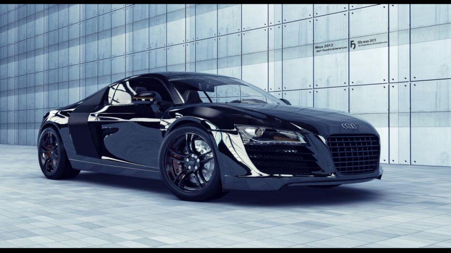 cars vehicles transportation tuning wheels Audi R8 automobiles wallpaper
