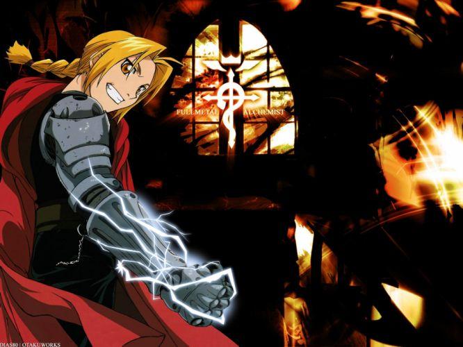 Fullmetal Alchemist Elric Edward wallpaper
