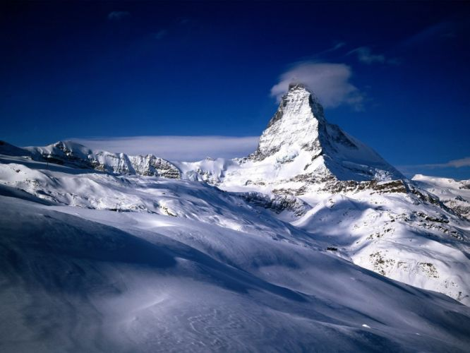 ice mountains nature snow cold wallpaper