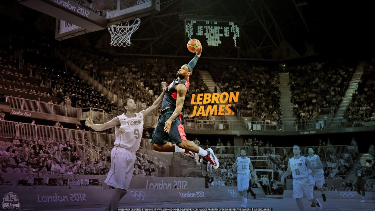 Nba Lebron James Dunk Basketball Player Wallpaper 2560x1440