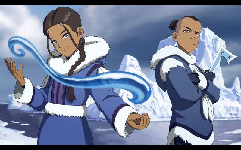 Avatar: The Last Airbender Katara Sokka Waterbender wallpaper