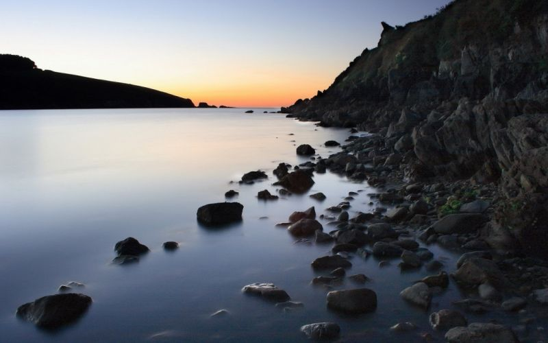 water landscapes nature rocks wallpaper
