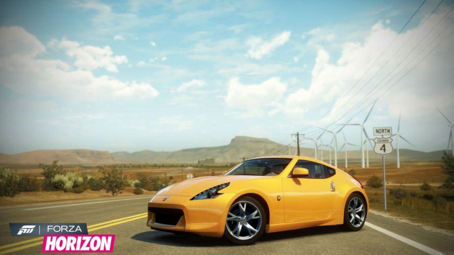 video games cars Xbox 360 Nissan 370Z Forza Horizon wallpaper