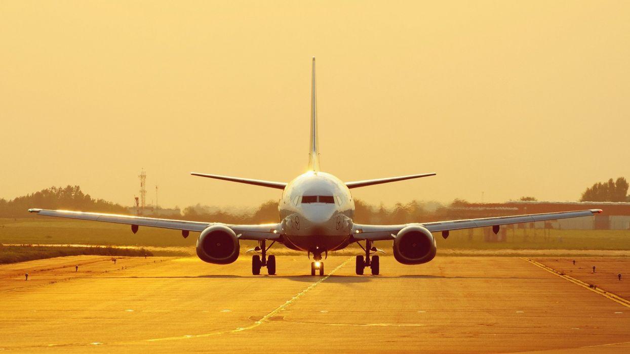 aircraft runway Lufthansa Airbus A320 wallpaper