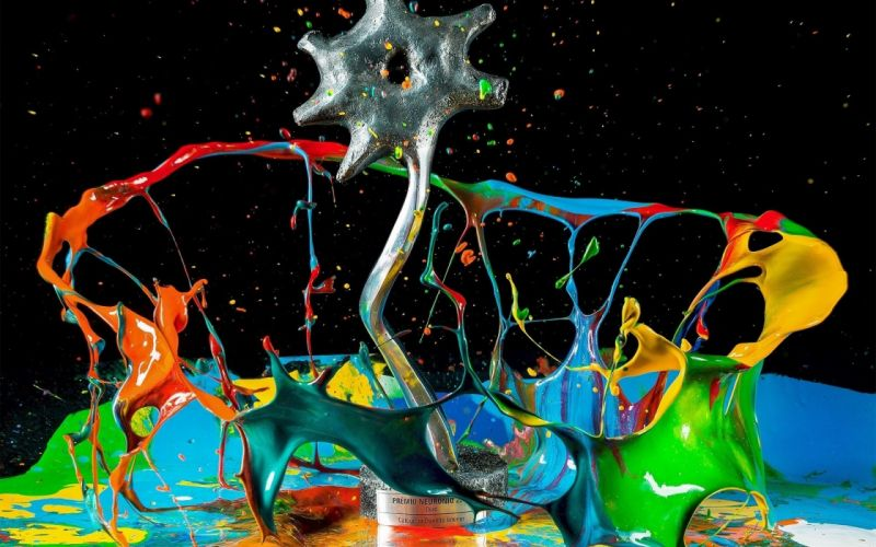 abstract paint colors wallpaper