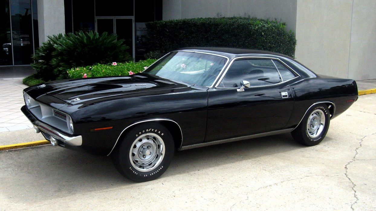 Muscle Cars Usa Plymouth Barracuda Classic Cars Widescreen Cuda