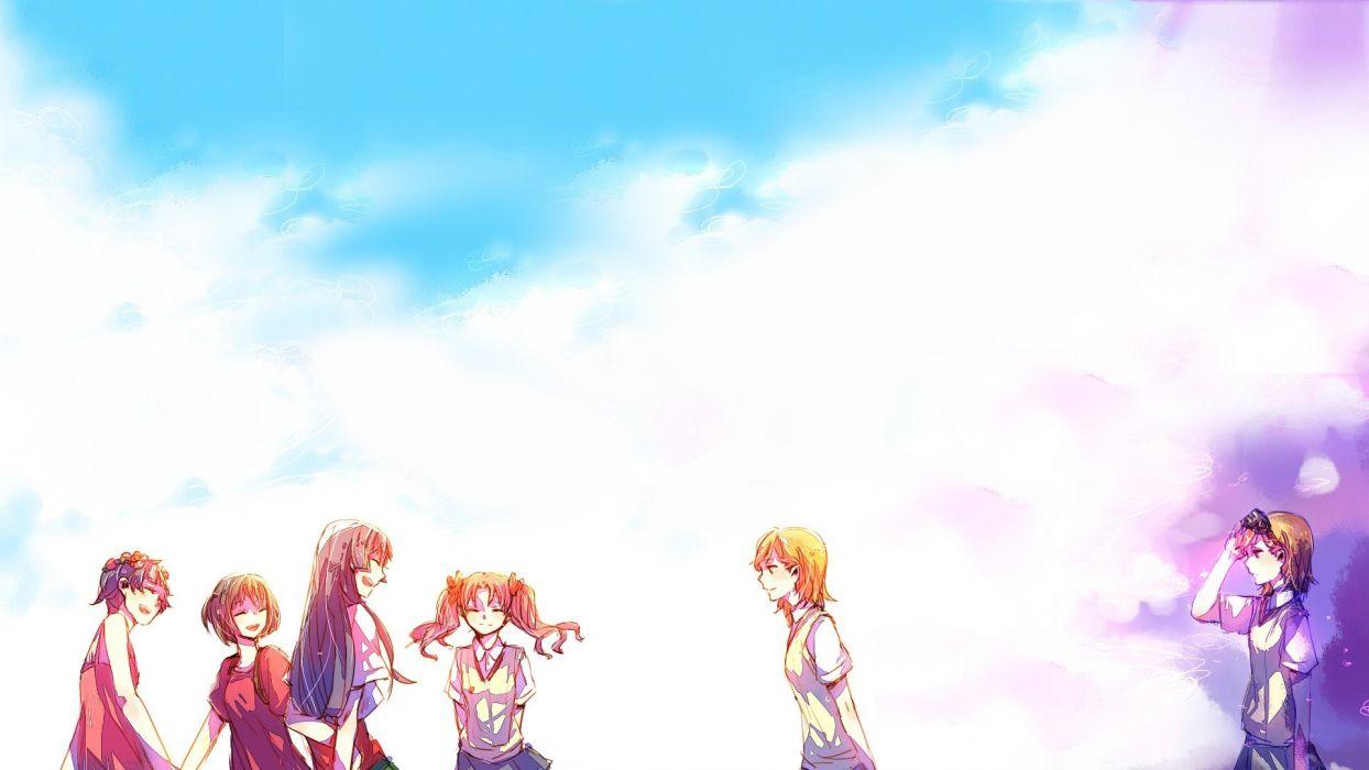 Misaka Mikoto Toaru Kagaku no Railgun Uiharu Kazari Misaka Imouto anime Shirai Kuroko Saten Ruiko Toaru Majutsu no Index wallpaper