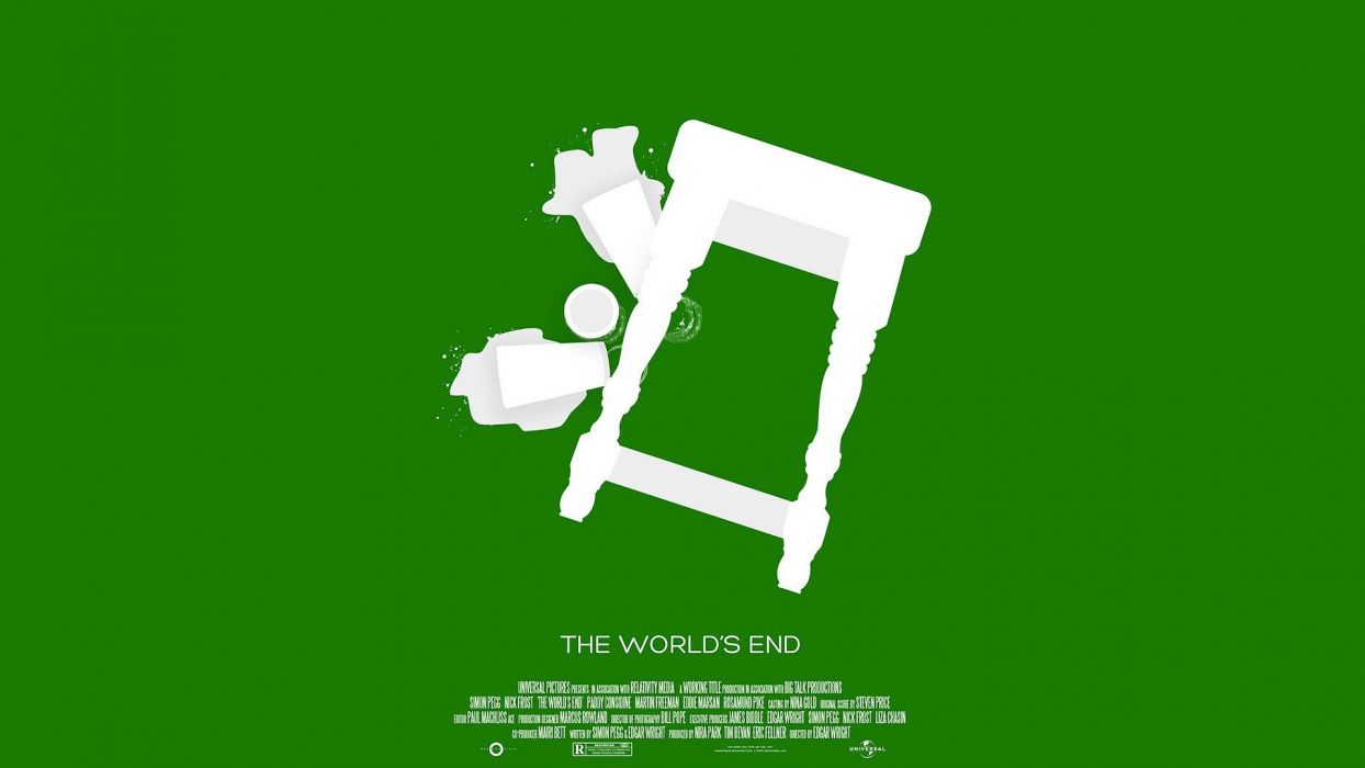 movies worlds Simon Pegg Kevin James fan art The World's End wallpaper