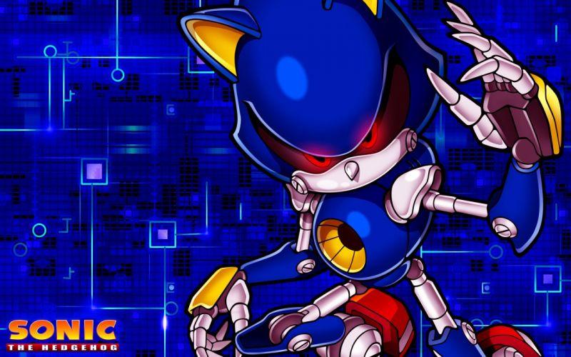 Sonic the Hedgehog video games metal Sonic Game characters Sonic Team Metal Sonic wallpaper