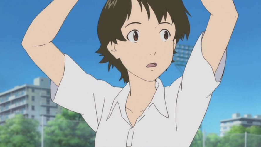 women The Girl Who Leapt Through Time wallpaper