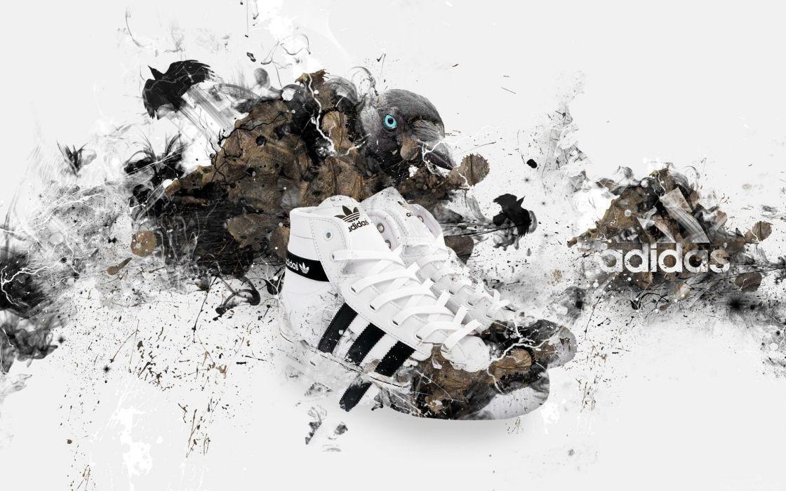 sports Adidas shoes brands logos wallpaper