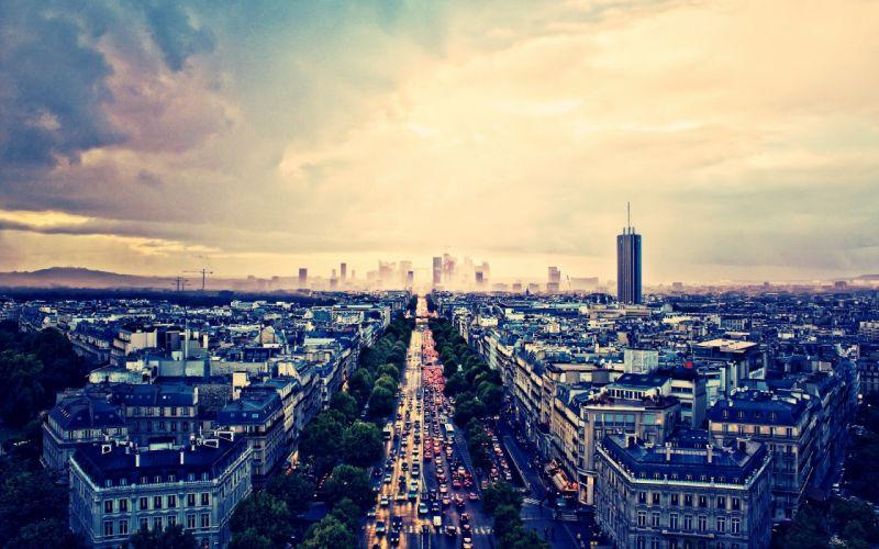 Paris cities wallpaper