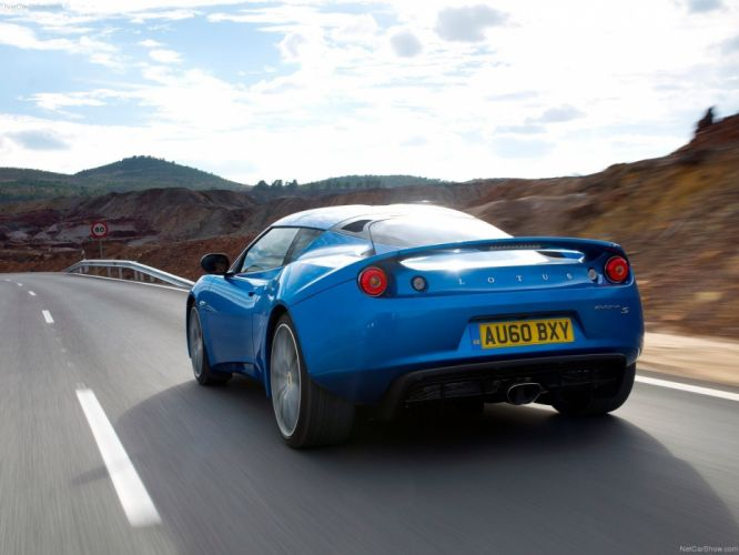 blue cars Lotus Evora wallpaper