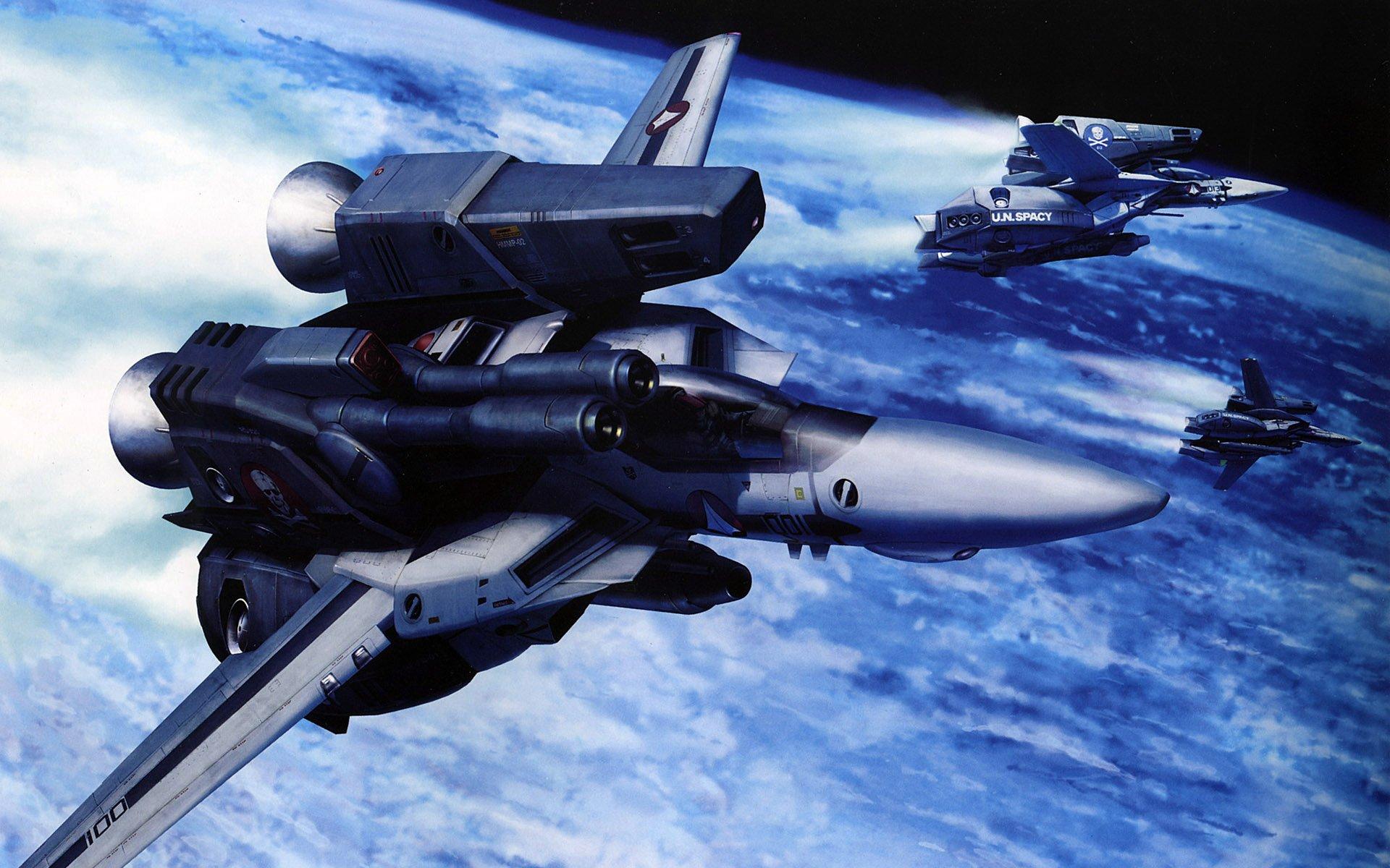 Aircraft macross military valkyrie robotech jet aircraft wallpaper ...