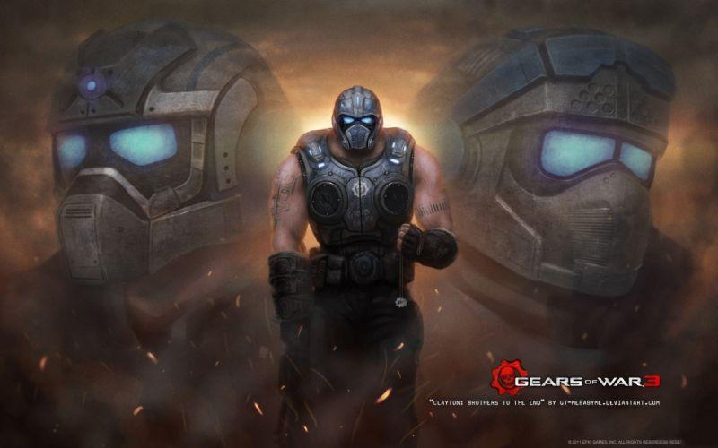 Gears of War games wallpaper