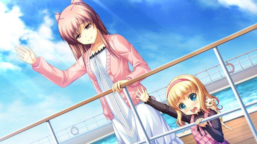 brunettes blondes women clouds cats long hair sad boats vehicles swimming pools skyscapes anime girls wallpaper