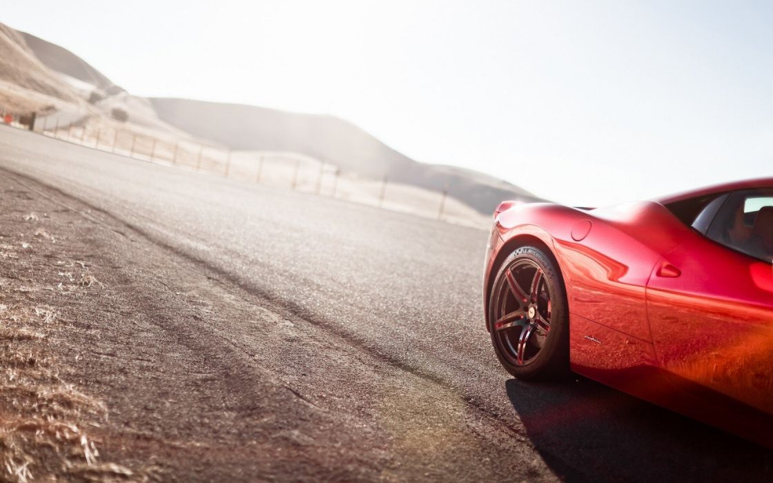 cars deserts engines Ferrari roads wheels red cars fast  auto wallpaper
