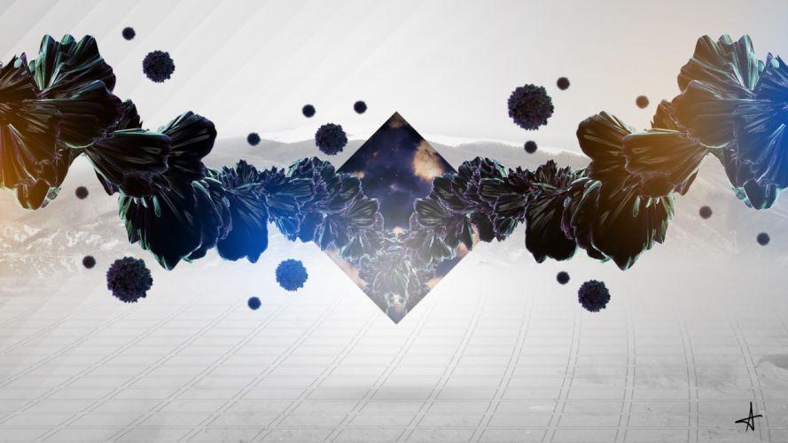abstract illuminati digital art wallpaper