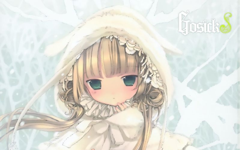 anime Gosick manga Hinata Takeda Victorique de Blois wallpaper