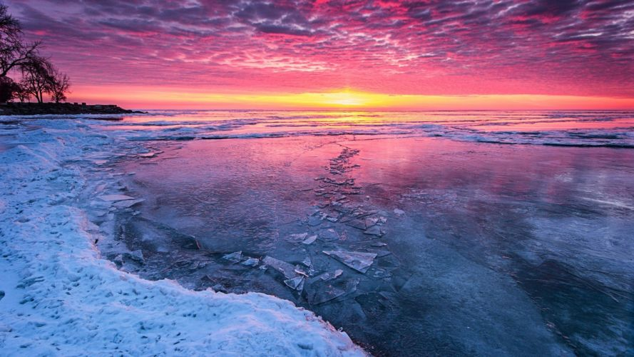 ice snow wallpaper