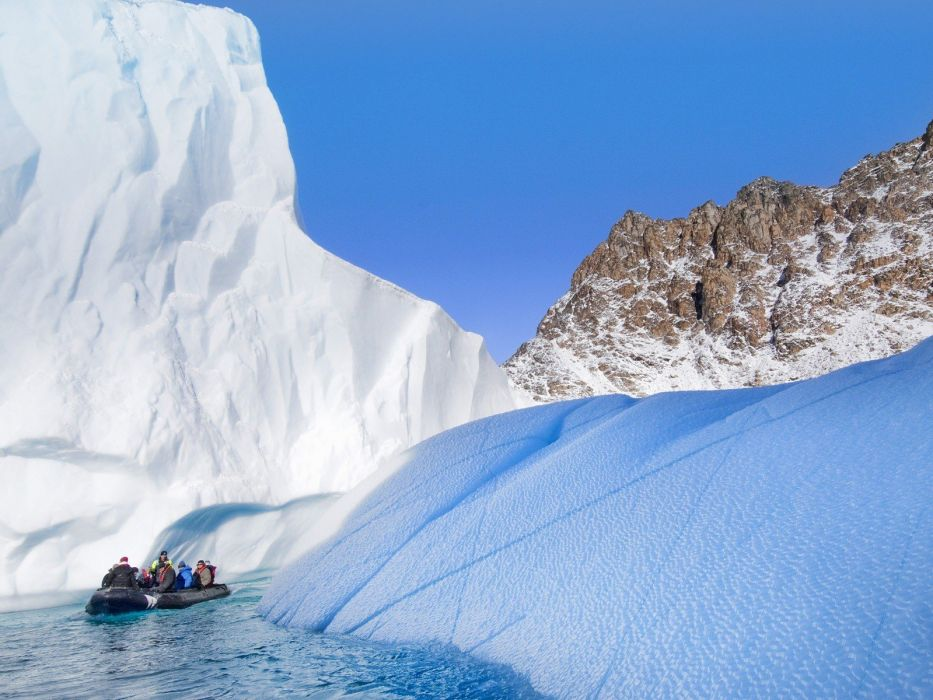 landscapes nature sound Greenland wallpaper