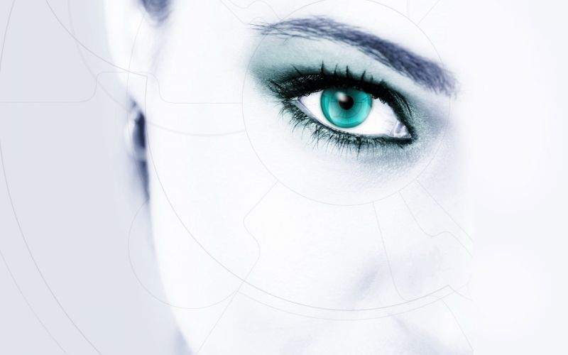 eyes white wallpaper