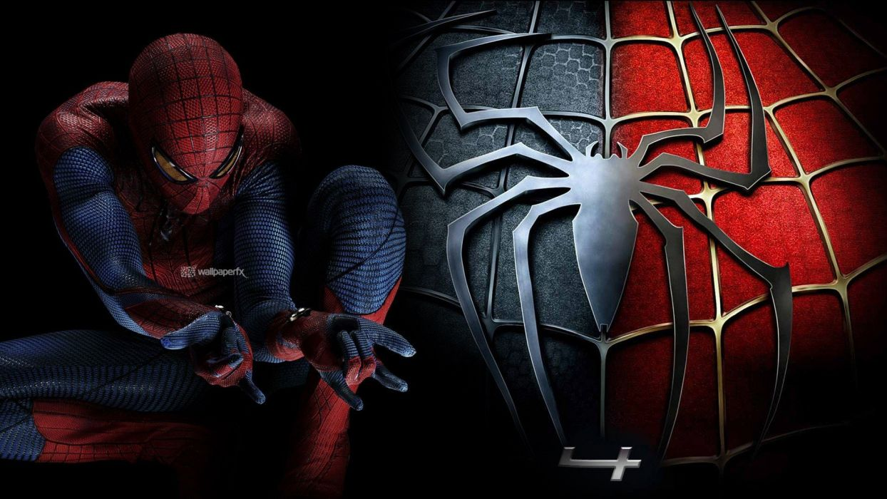 movies Spider-Man The Amazing Spider-man Spider-man logo wallpaper