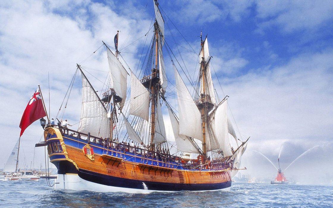 ships sail ship sails wallpaper
