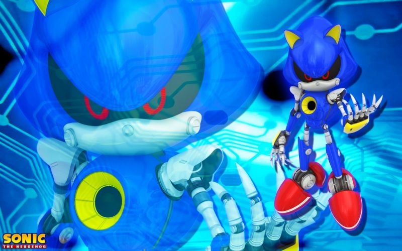 Sonic the Hedgehog video games metal Sonic Game characters Sonic Team Metal Sonic wallpaper