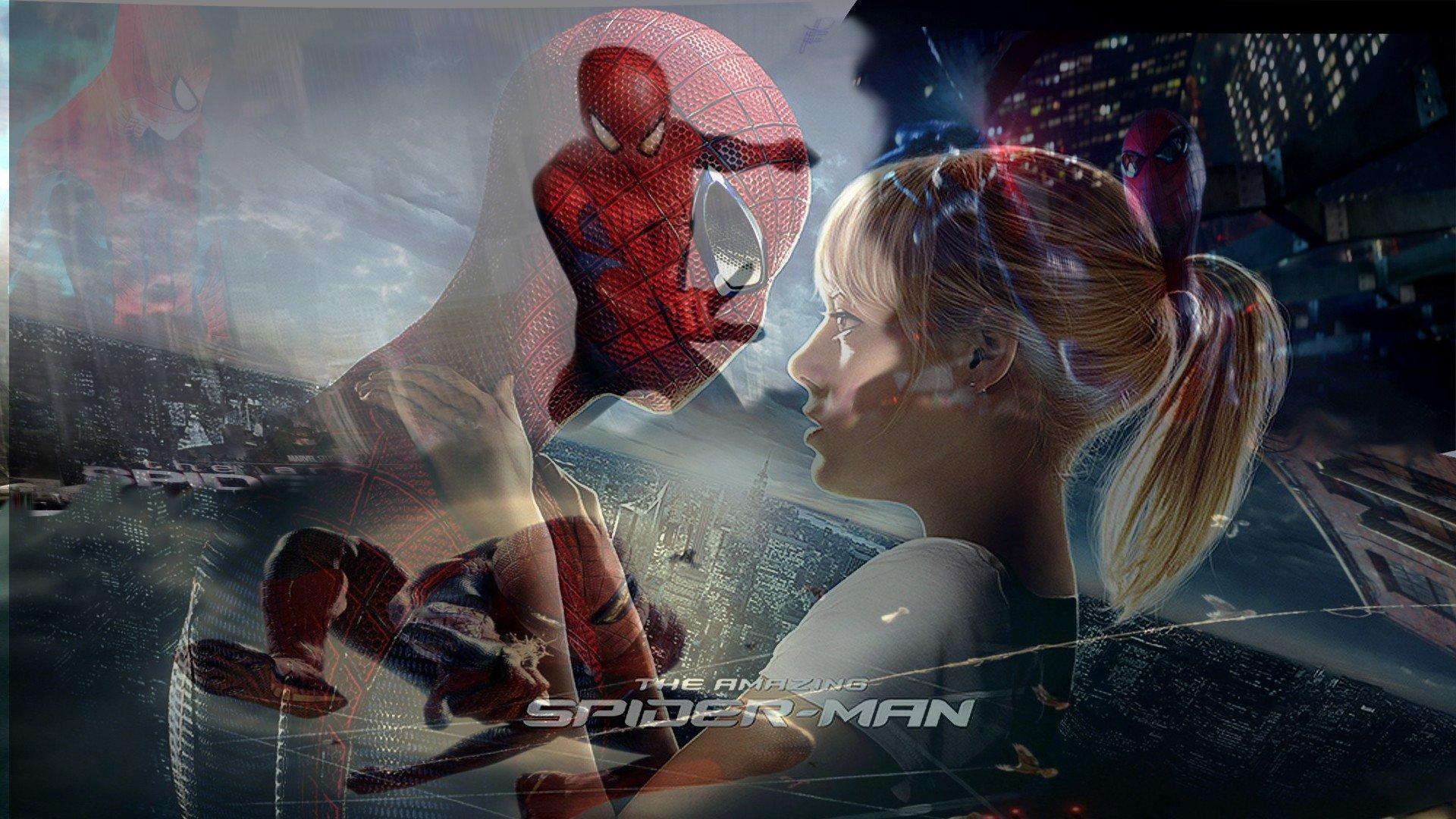 Spider Man Emma Stone Gwen Stacy The Amazing Wallpaper