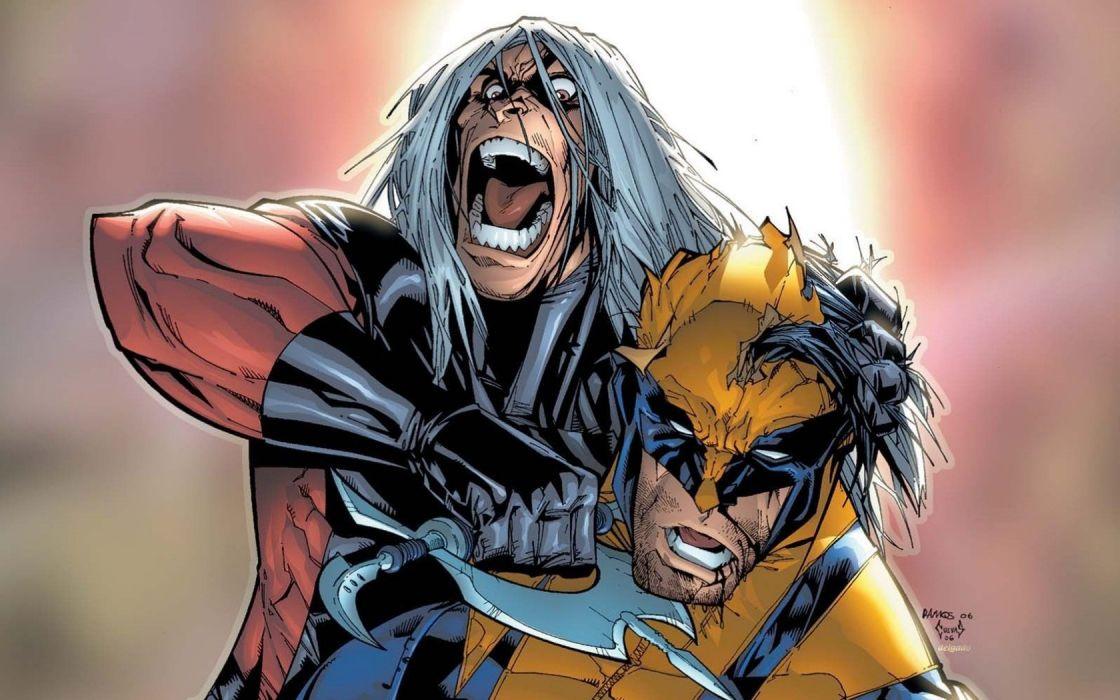 comics X-Men Wolverine superheroes Marvel Comics wallpaper