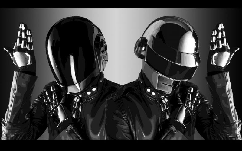 music robots Daft Punk wallpaper