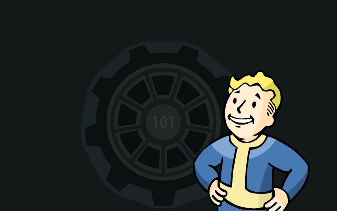 video games Fallout vault Vault Boy Vault 101 wallpaper