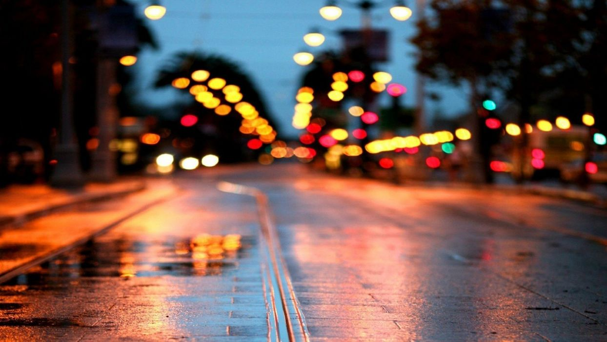 cityscapes streets colors out of focus streetscape wallpaper