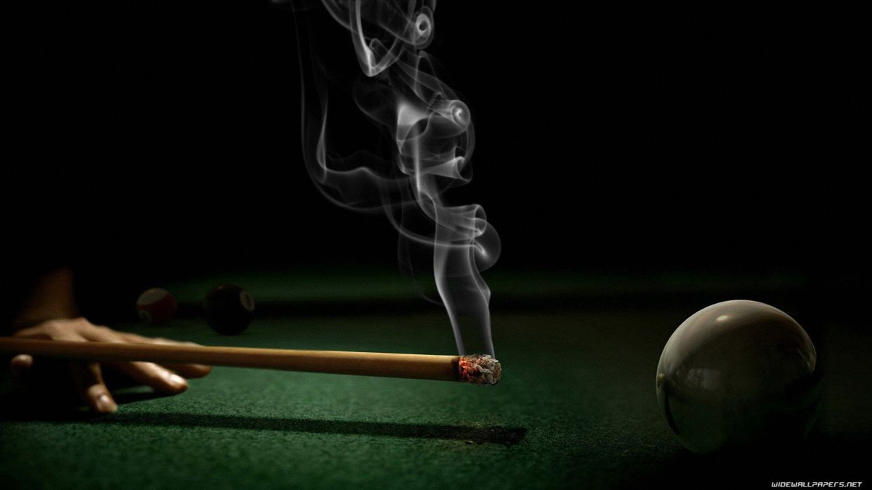 smoke billiards tables snooker wallpaper