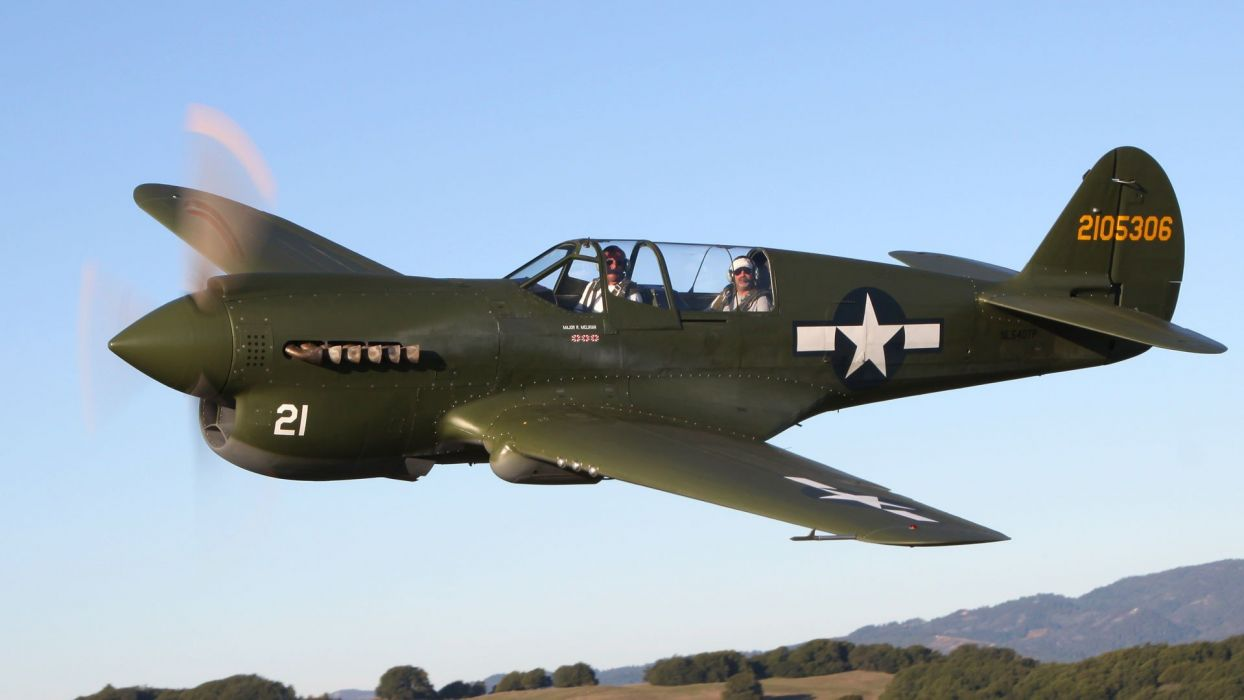 airplanes P-40 Warhawk wallpaper