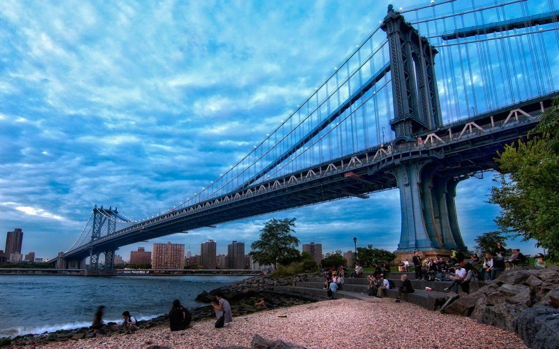 bridges cities wallpaper