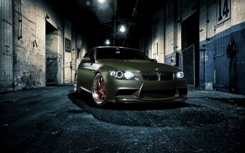 green BMW cars professional vehicles tuning BMW Series M BMW 3 Series BMW E92 wallpaper