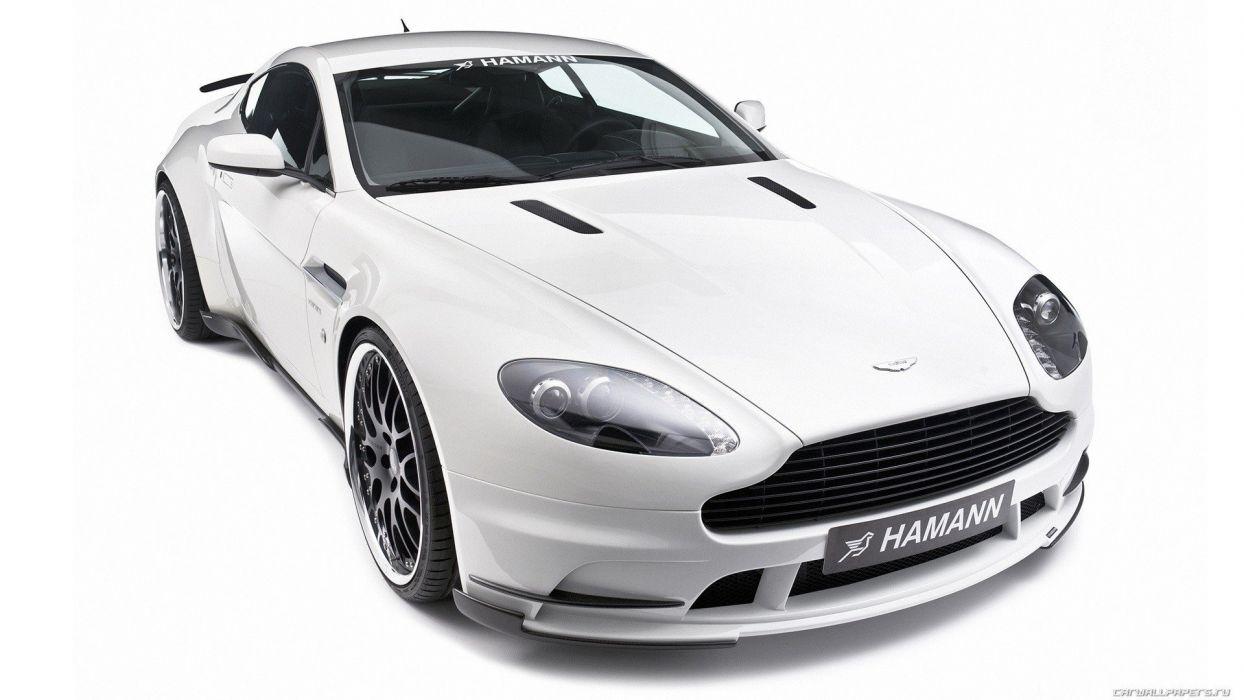 white cars Aston Martin Hamann Hamann Motorsport GmbH wallpaper