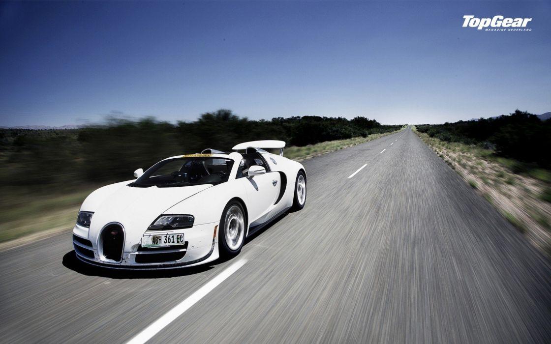 Top Gear Bugatti Veyron Bugatti Veyron Grand Sport wallpaper