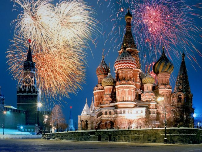 fireworks cathedrals wallpaper