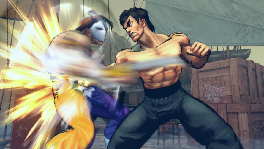 video games Street Fighter IV Vega Fei Long wallpaper