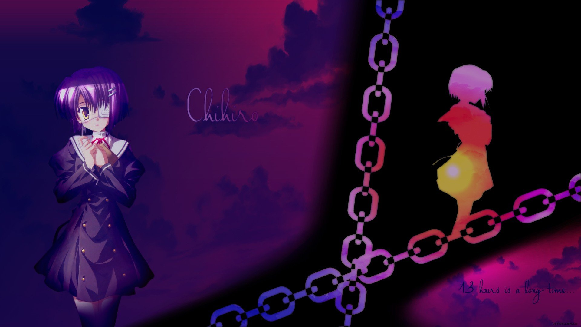 Ef A Tale Of Memories Anime Chihiro Shindo Wallpaper 1920x1080 260484 Wallpaperup