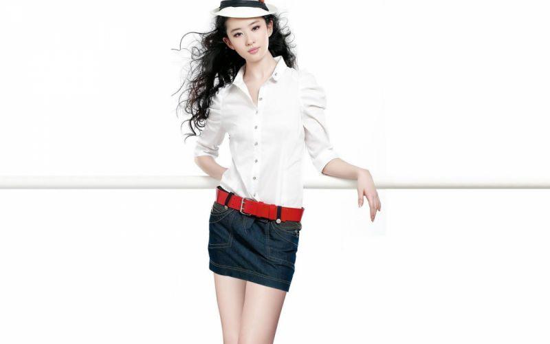 models Asians Liu Yifei wallpaper
