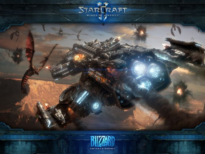 Blizzard Entertainment StarCraft II wallpaper