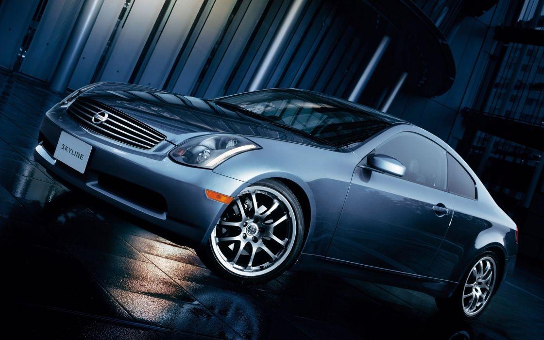 cars Nissan Nissan Skyline wallpaper