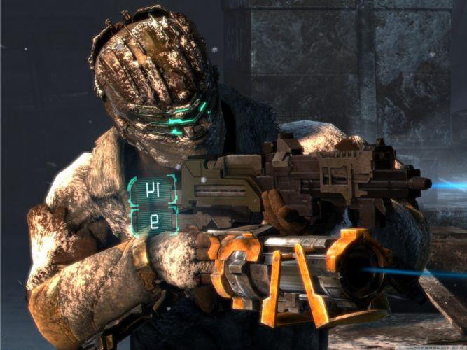 video games Dead Space screenshots wallpaper
