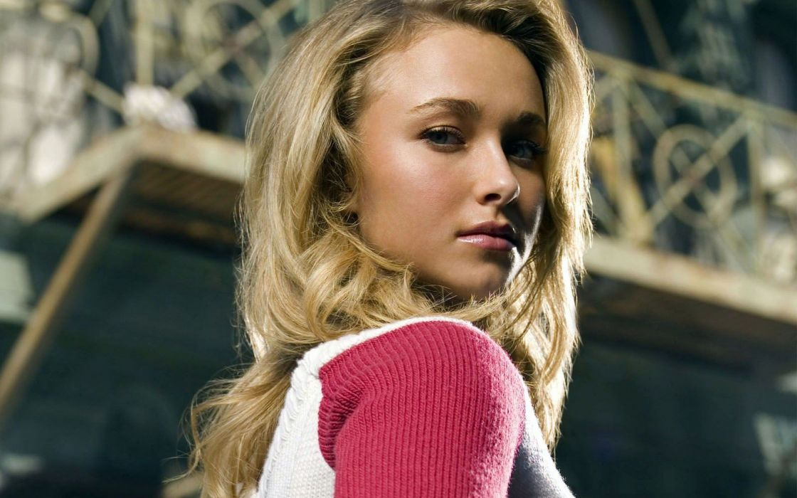 blondes women actress Hayden Panettiere models wallpaper