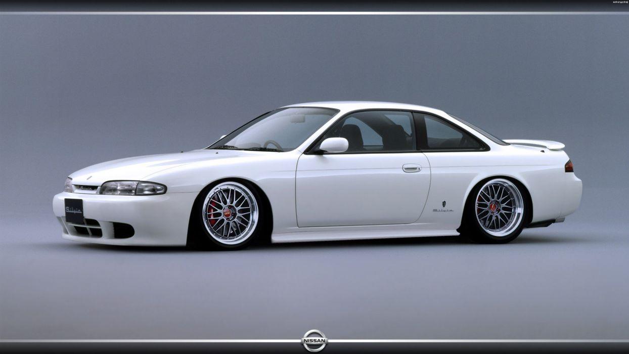 cars DeviantART digital art tuning Nissan 200SX Nissan Silvia S14 kouki Nissan s14a wallpaper