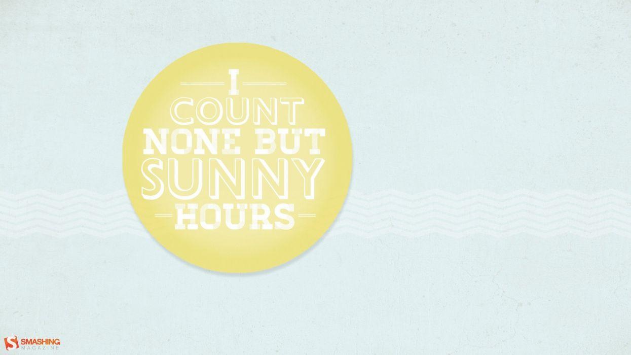 quotes circles typography inspirational Smashing magazine sunny wallpaper
